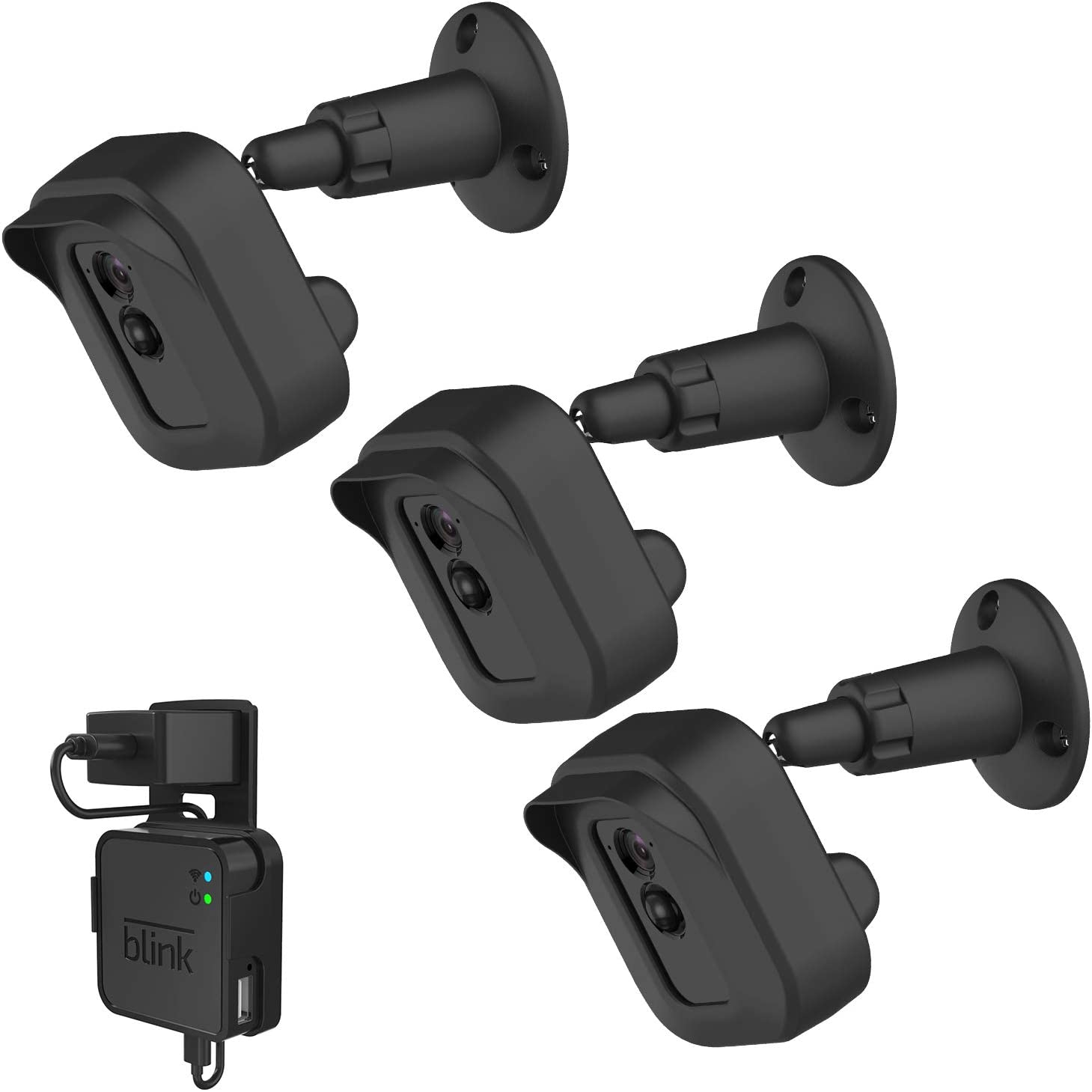 Blink XT//XT2 Camera Wall Mount Bracket Weather Proof 360* Full Protectiion 3Pack