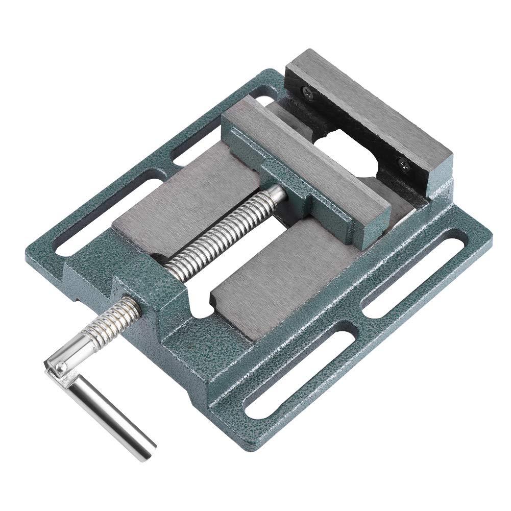tornillo de banco para m/áquinas de taller de destornillador tornillo de banco para taladros de mesa Tornillo de banco de precisi/ón de 4 pulgadas apertura de mordaza 11 cm