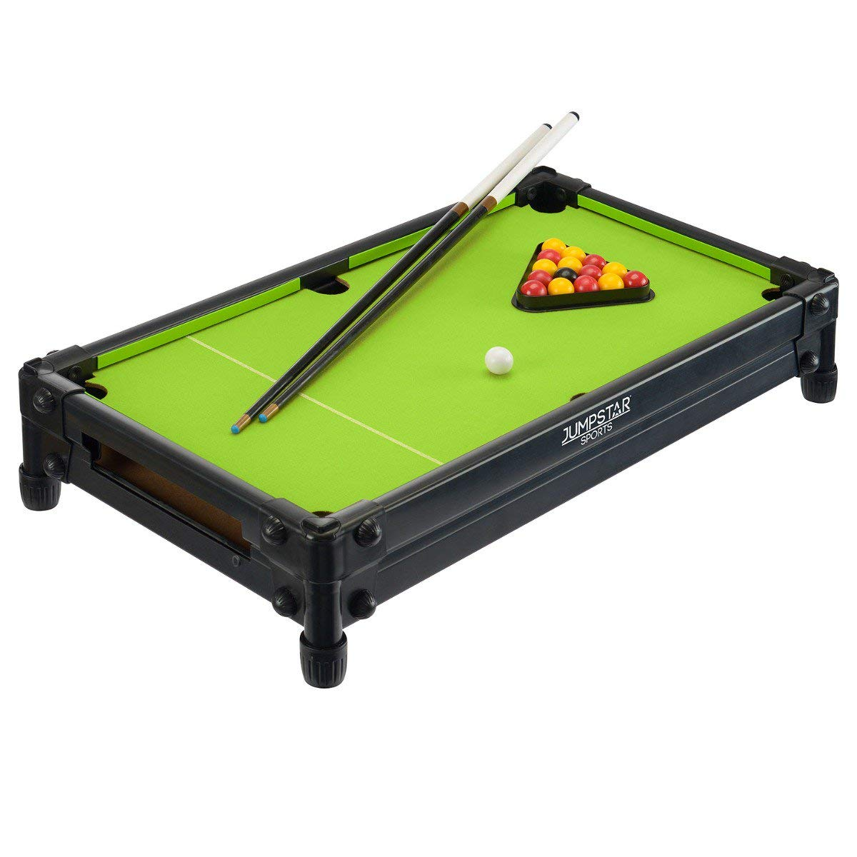 L81cm x W41cm x H70cm Freestanding /& Tabletop Design Kids Mini Indoor Billiard Game ToyStar Miniature Pool Table