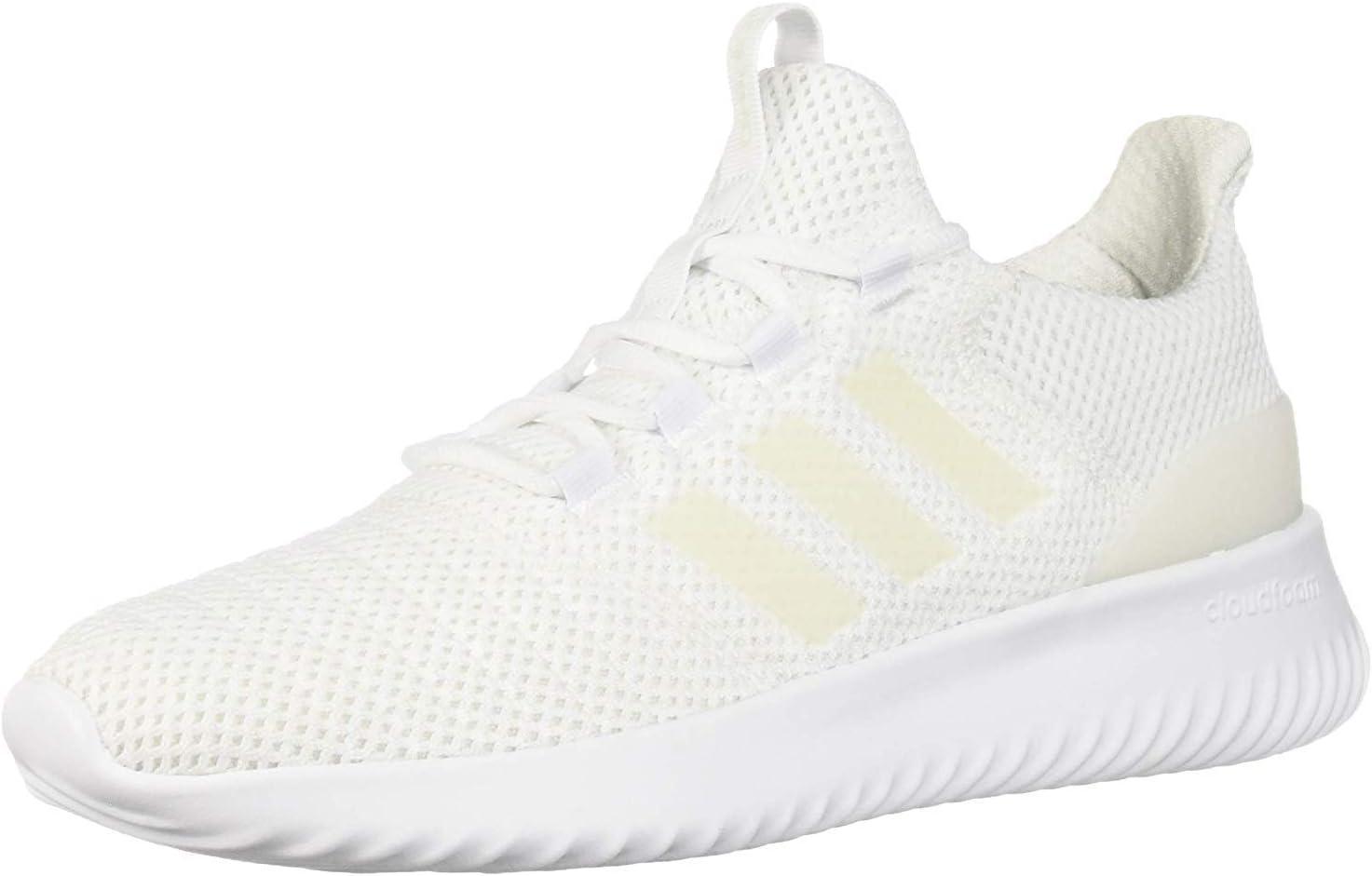 Amazon.com: adidas Men's Cloudfoam Ultimate, White/White/White ...