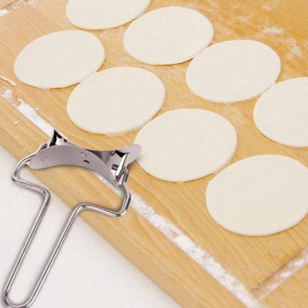 Amazon.com: Círculo cortador de Dumpling Envoltura ...