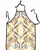 chanrancase tailored apron mosaic colorful pattern for wallpapers design Children, unisex kitchen apron, adjustable neck for barbecue 26.6x27.6+10.2(neck) INCH
