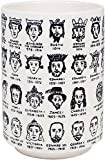 The Unemployed Philosophers Guild It's Hard to Get a Handle on the Kings and Queens of England - Porcelain Tea Cup Featuring The Entire Royal Lineage