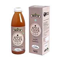 Brewvin Raw and Unfiltered Apple Cider Vinegar with Mother - 750 ml