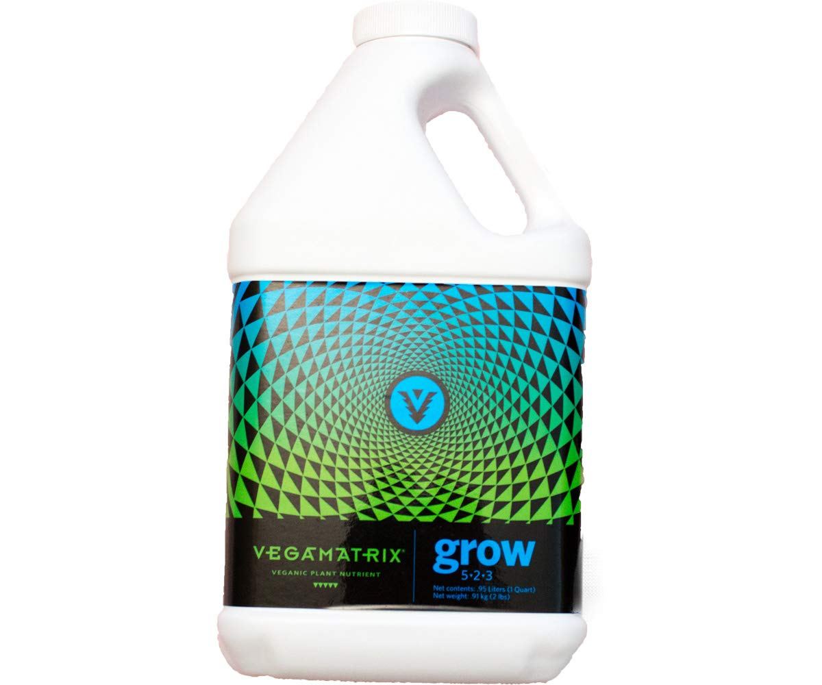 Vegamatrix VX50020 Grow, 1 gal (4/cs) Nutrient, 1 Gallon White