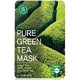 [Tosowoong] masksheet 10PCS/Mask pack/Essence Facial Mask/Mask Sheet/Aloe/Blueberry/Green tea/Snail/Deep sea water/Propolis (Green tea)