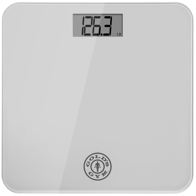 Gold's Gym Digital Tempered Glass Bathroom Body Weight