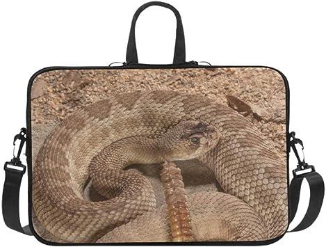 WESTERN Diamondback Rattlesnake  zipper Shoulder Bag