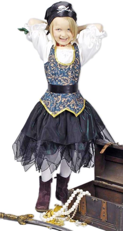 piratin Angelica seeräuberin Disfraz Para Niños – Crédito Piratas ...