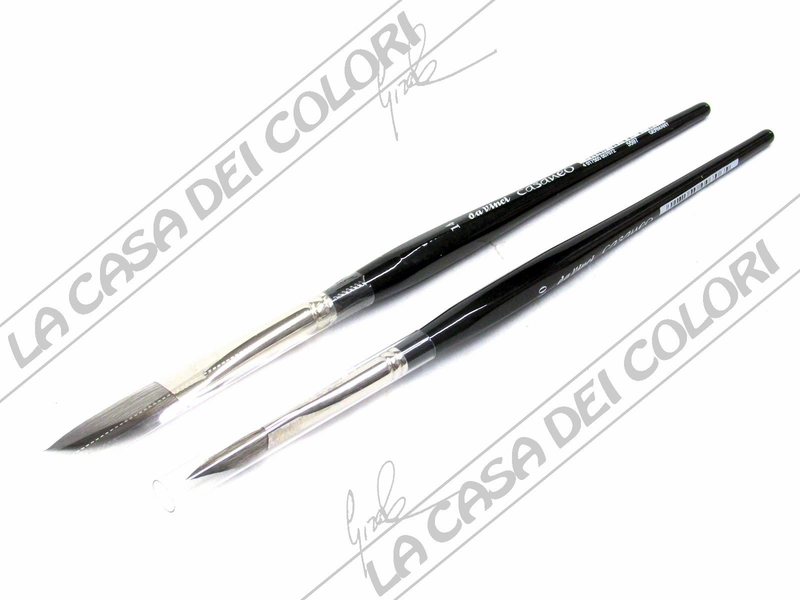 da Vinci Watercolor 5597-14 Casaneo Watercolor Brush Black