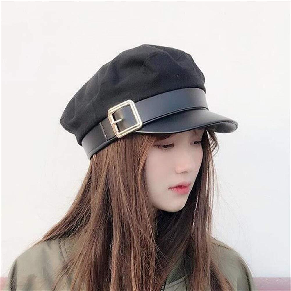 Women Black Military Hats...