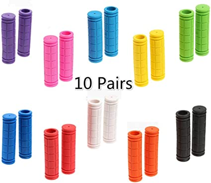 12cm Rubber Bike Handlebar Grips Cover BMX MTB Mountain Bicycle Handles Parts