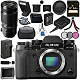 Fujifilm X-T2 Mirrorless Digital Camera (Body Only) 16519247 + Fujifilm XF 50-140mm f/2.8 R LM OIS WR Lens 16443060 Bundle