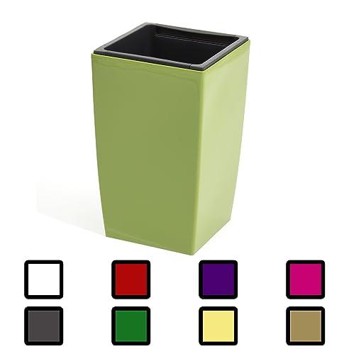 30 Liter oliv grün Hauseingang Pflanzkübel mit Einsatz 530 mm hoch ...