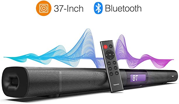 Amazon.com: tenker 37 inch Cable y barra de sonido Surround ...