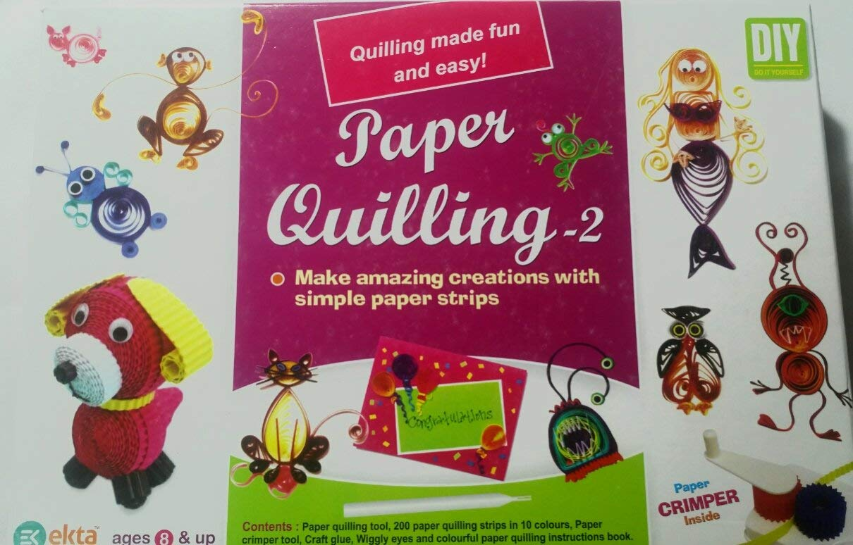 Ekta mureshop Paper Quilling(Make Amazing Creations with Paper Strips)