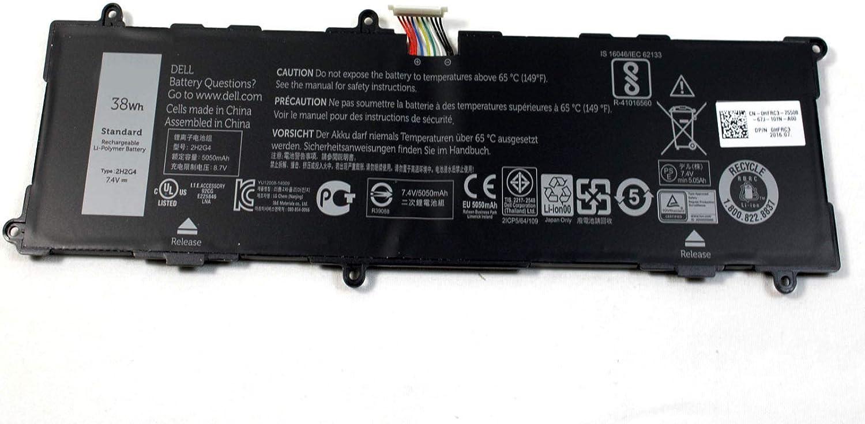 New Genuine Dell Venue 11 Pro 7140 38WH 7.4V Battery 2H2G4