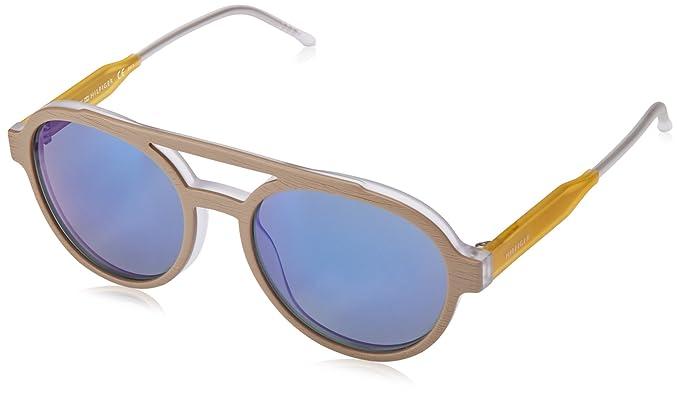 Tommy Hilfiger TH 1391/S 23, Gafas de Sol Unisex-Adulto, Grey Yellow, 54: Amazon.es: Ropa y accesorios