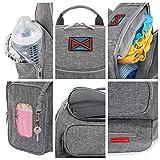 Diaper Bag Backpack   Large Capacity Baby Bag