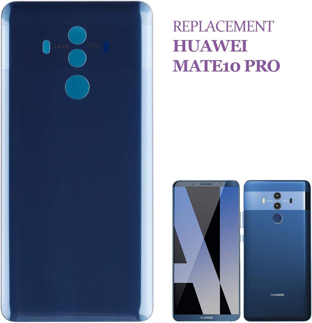 Vidrio Parte Trasera Huawei Mate 10 Pro Azul