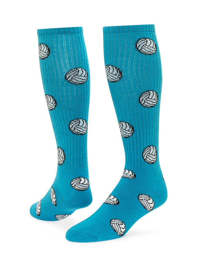 27d680cc4847 Red Lion Volleyball Knee High Sock (Turquoise - Small) Standard  Merchandising 7635D6UT ...