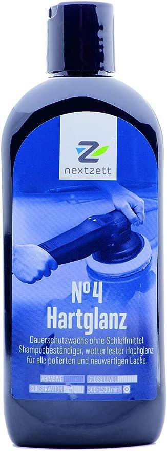 Nextzett 250ml No4 Hartglanz Wax Versiegelung Vormals 1z Einszett Auto