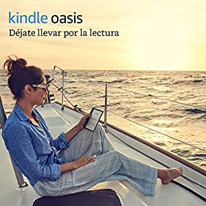 "Nuevo e-reader Kindle Oasis - Grafito, resistente al agua, pantalla de 7"" (17,7 cm) de alta resolución  (300 ppp), 8 GB, wifi"