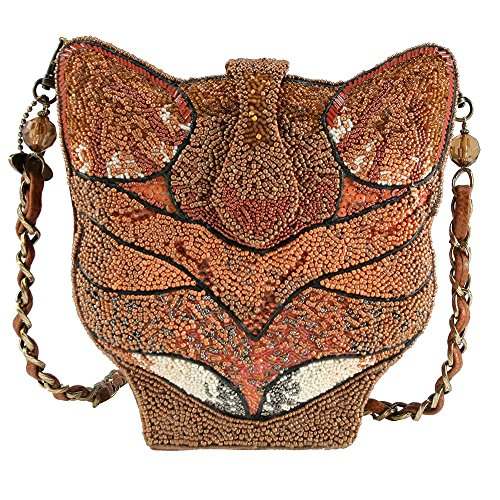 Sly Frances Handbag New Orange Fox Mary Foxy Brown qvwYdd