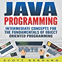 Java Programming: Intermediate Concepts for the Fundamentals of Object Oriented Programming Audiobook by Scott Bernard Narrated by Sean Posvistak
