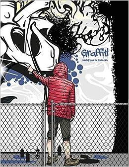Amazon.com: Graffiti Coloring Book for Grown-Ups 1 (Volume 1 ...