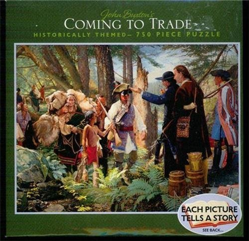 John Buxton's Coming to Trade 750 Piece Puzzle by Ceaco