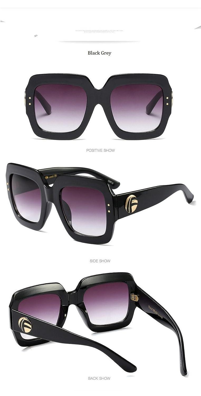 df7cc02a1d935 qbling technolog Marque de luxe Italie 2018 Lunettes de soleil carrées xl  Femmes Hommes Brand designer cadre rétro lunettes de soleil pour femme  rouge vert ...