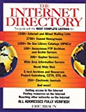 The Complete Internet Directory, Eric Braun, 0449908984