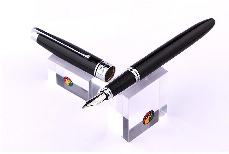Plumas / metal pluma de metal / Pluma de la pluma de la pluma 0.5mm Regalos de la oficina del negocio ( Color : 1 ) 0d093f
