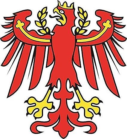 U24 Aufkleber Südtirol Adler Autoaufkleber Sticker Konturschnitt Auto