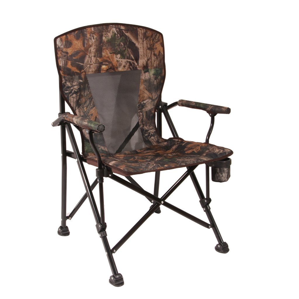 GUO XINFEN Klappstuhl im Freien - selbstfahrende Strand Camping Portable Angeln Stuhl Büro Mittagspause Stuhl