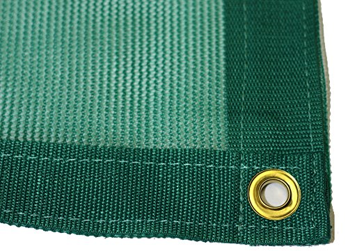 20g Net - 20'X20' Green Net Tarp 70% Shade Mesh Tarps with Grommets ROLL-OFF
