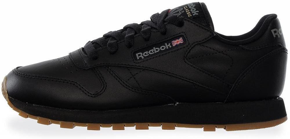 niebla tóxica Pino Coche  Tenis Reebok CL LTHR - 49804 - Negro - Mujer - Negro - 24.5: Amazon.com.mx:  Ropa, Zapatos y Accesorios