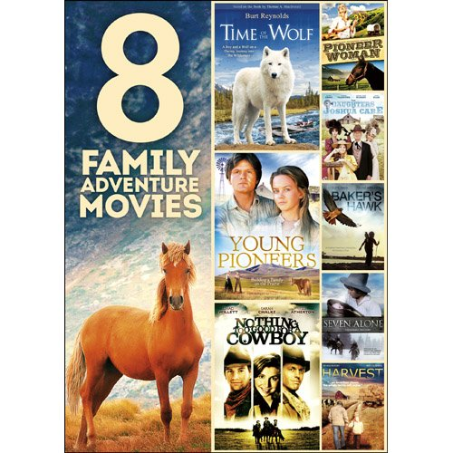 8 Family Adventure Movies on 2 DVDs