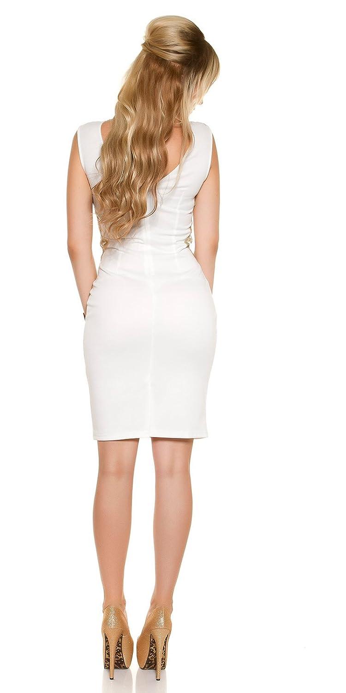 In-Stylefashion Women's Pencil Dress white Wei? One size
