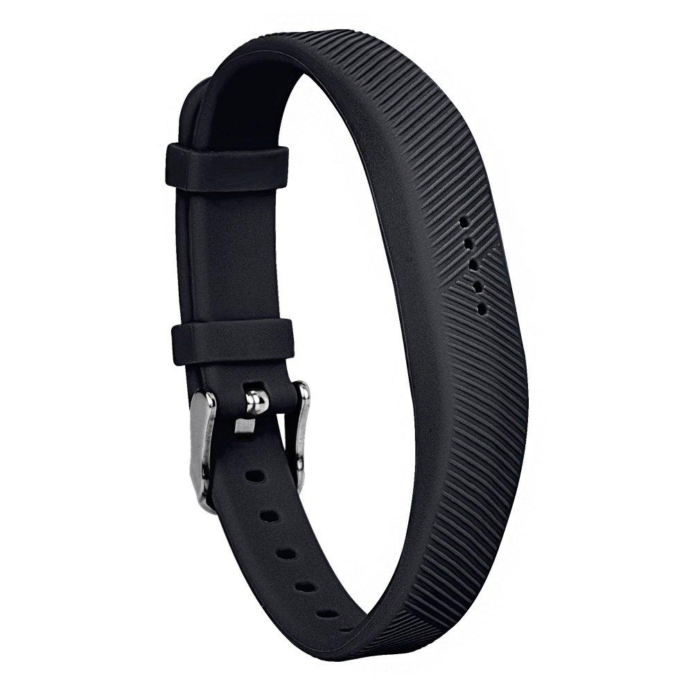 RedTaro 交換用バンド Fitbit Flex 2 安全バックル開閉式/時計バンド 落下の問題を解決Fitbit Flex 2用バンド ストラップ Fitbit Flex 2ブレスレット 標準 #801 black B01NBDBEX6
