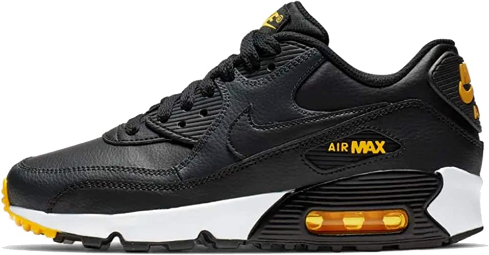 : Nike Air Max 90 Leather BlackAmarillo