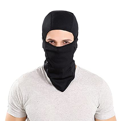 SYQ Super Thick Adjustable Lightweight Soft Balaclava Scarf Winter  Windproof Ski Face Mask for Men  599de5448