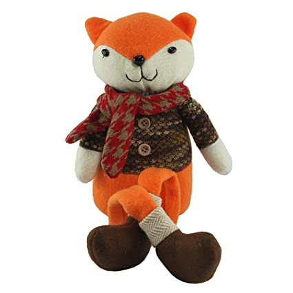 Amazon.com: Connie N Randy Fall Fox Shelf Sitter: Home & Kitchen