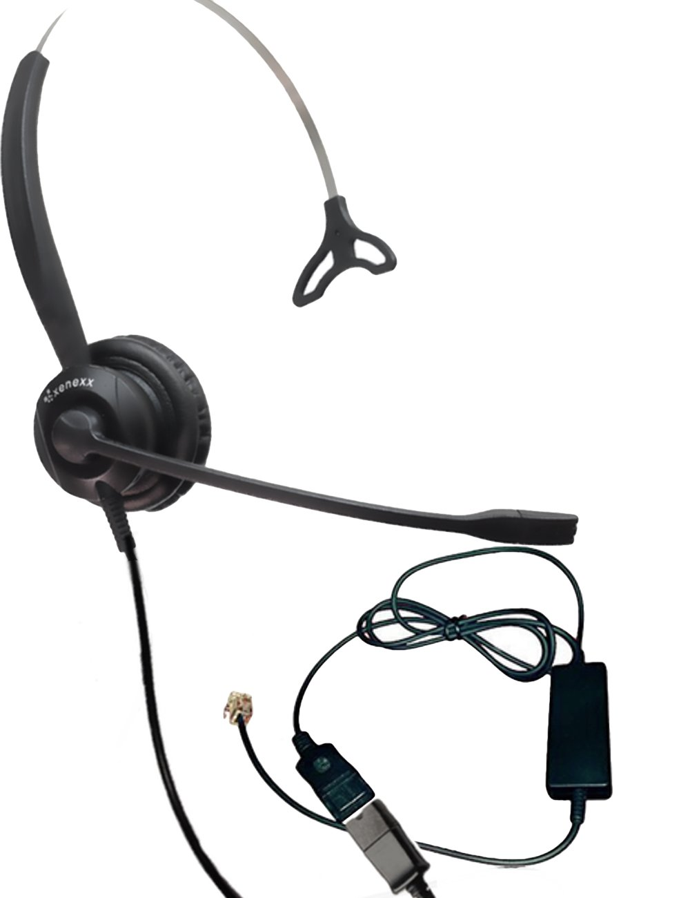VoIP for RJ9 Phones with Headset Port Mitel Nortel Allworx NEC XS ...