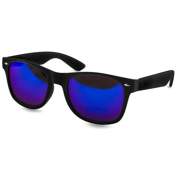 Caspar SG008 Gafas de Sol Retro Unisex con Montura Mate ...