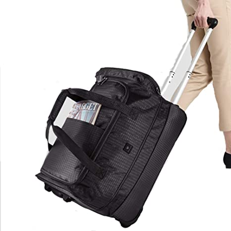 d05690fa3672 Amazon.com: YANJINGHONG Trolley Backpack Travel Bag Female Male ...