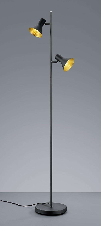 L:11,0cm Noir L:33,0cm Spot Nina 2xE14 Corps: metal or H:21,0cm IP20 max.40,0 W metal Reality