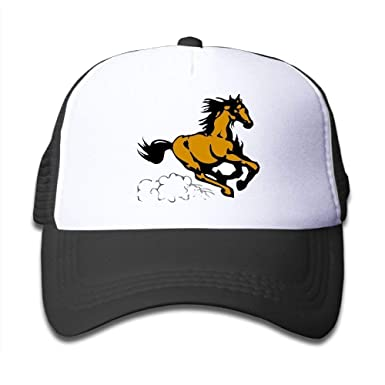 Running Horse Gorras de béisbol de malla ajustable Sombreros de ...