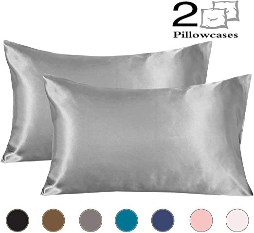 Amazon Com Coverify Satin Pillowcase For Hair And Skin Queen Size